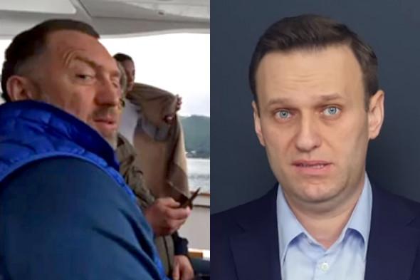 Навальный как бы помогает ФБР давить на Дерипаску: кому выгоден «рыбкагейт»?