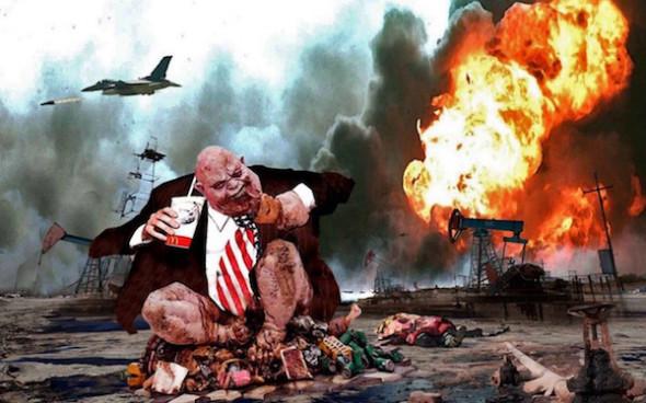 Американцы научились у Медведева «бомбить Воронеж»