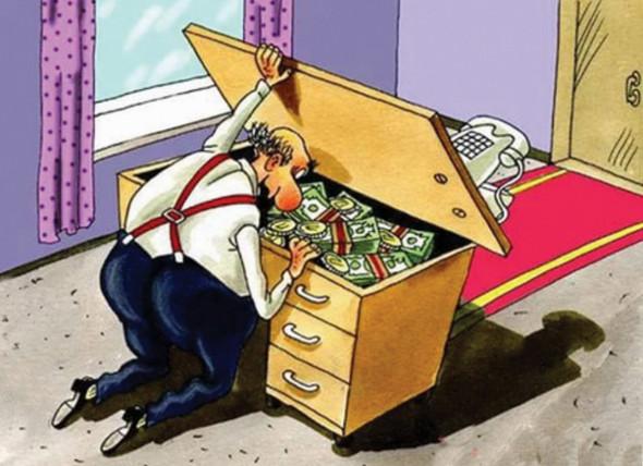 У чиновников закончился кризис: сотрудников АП и кабмина не обидят в зарплате