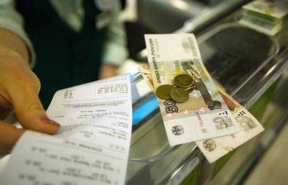 Средний магазинный чек россиян упал до минимума