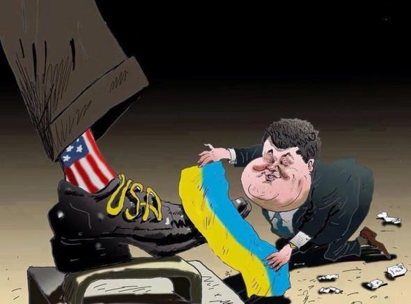 Украина - собственность Соединенных Штатов Америки